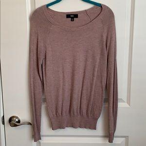 Mossimo Grayish purple sweater